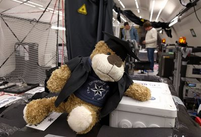 Captain Bright One University of Brighton mascot