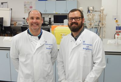 Dr Neil Crooks and  Dr Angelo Pernetta