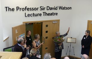 Sir David Watson lecture theatre