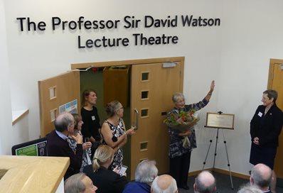 Sir David Watson lecture theatre