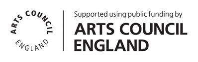 Supported by the Arts Council logo