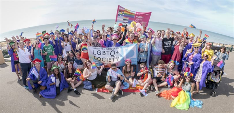 University of Brighton at Pride