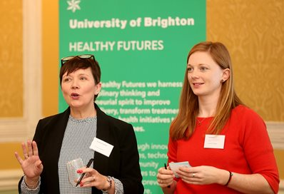 Susannah Davidson and Liz Johnson, University of Brighton
