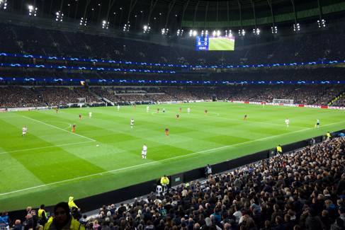 Tottenham Hotspur football stadium by Tim Bechervaise on unsplash