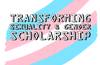 Crowdfunding postgraduate scholarship to transform sexuality and gender research