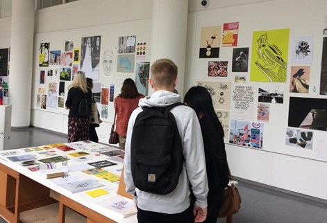 Degree Show tour  in School of Art