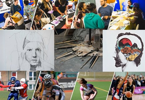 Gallery of a wide range of university activities