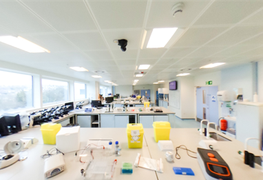 University of Brighton Biosciences Lab