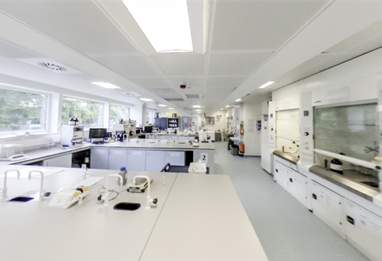 University of Brighton Chemistry Lab