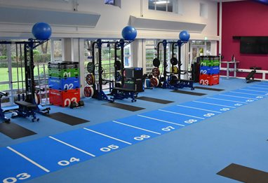 Strength and conditioning suite
