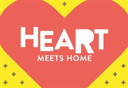 Heart meets home (graphic)