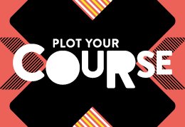 Plot your course (graphic)